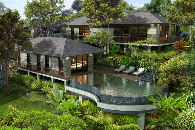 Bali garden villas villa types and house models pictures Bali home design