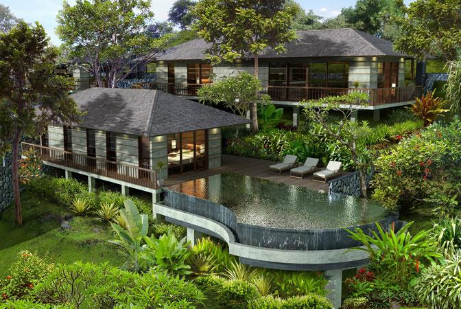 Bali Garden Villas Properties Villas Architecture